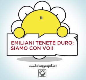 be happy terremoto emilia