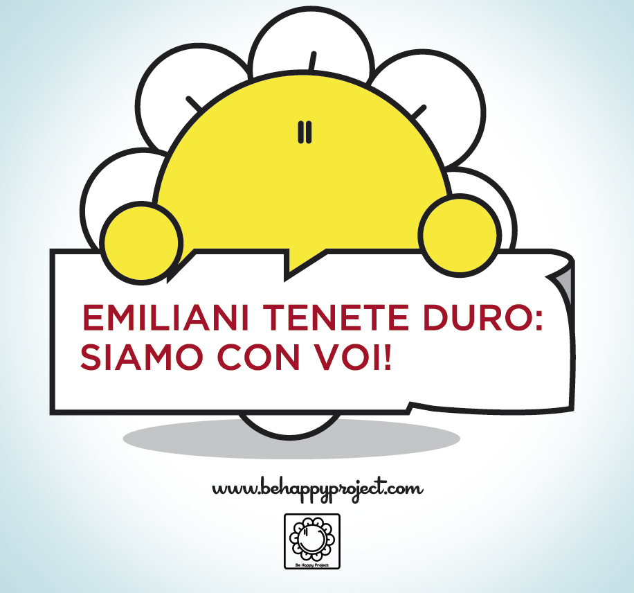 be happy terremoto emilia