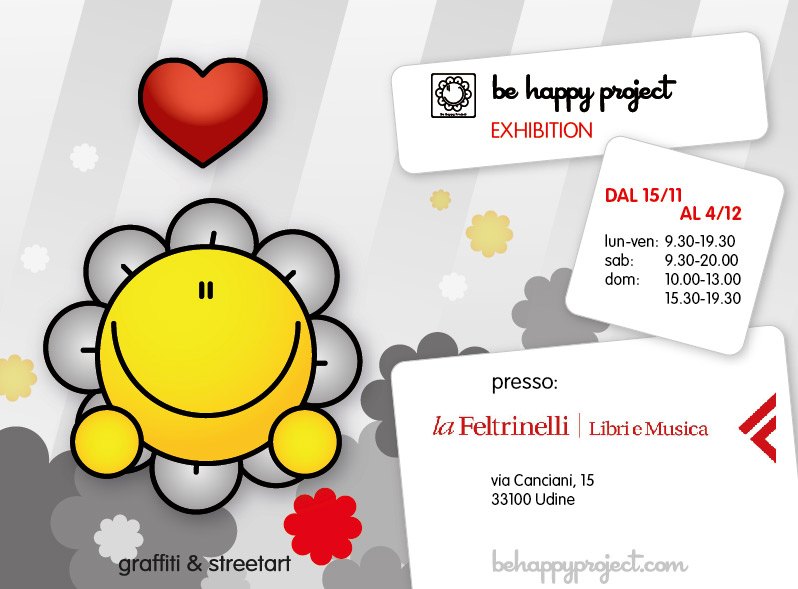 be happy feltrinelli udine